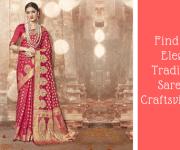 Find Most Elegant Traditional Sarees at Craftsvilla.com