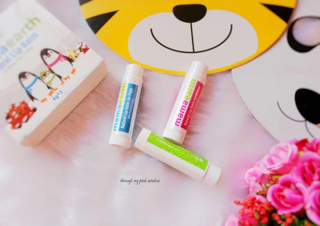 Mamaearth Natural Lip Balms for Baby, Mama and Papa: Review