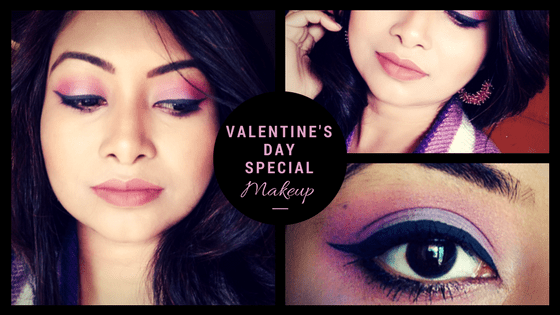 Valentine's Day Special Makeup step by step Tutorial