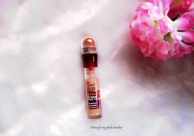Maybelline Instant Age Rewind Concealer in Shade Medium Review