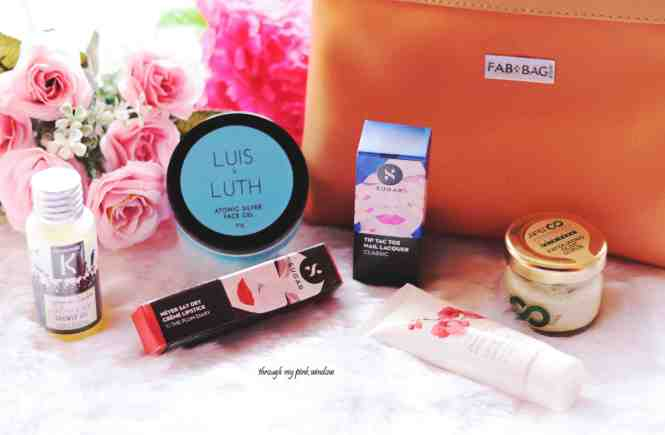 Fab Bag June 2018 Unboxing and Review    All She Needs Fab Bag