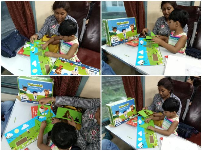 XploraBox- A fun way to build up Child's Skill and Ability