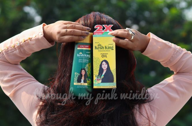 Kesh King Ayurvedic Oil and Anti-Hair Fall Shampoo Review