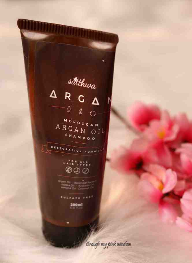 Sattwa Moroccan Argan Oil Shampoo Review