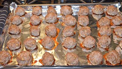 Pork Turkey Meatballs