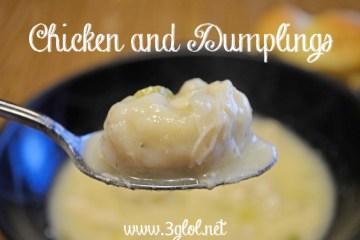 Chicken and Dumplings @ 3GLOL