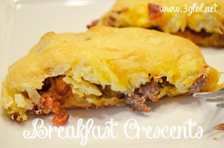 Breakfast Crescents