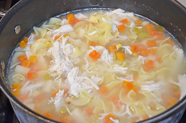 Homemade Chicken Noodle Soup by 3GLOL.net