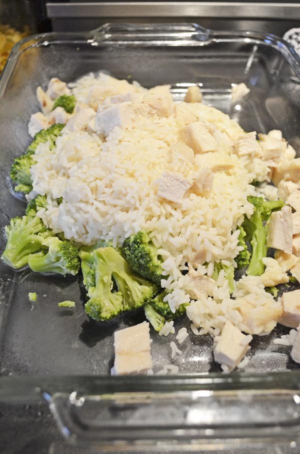 Chicken Broccoli and Rice Casserole by 3glol.net