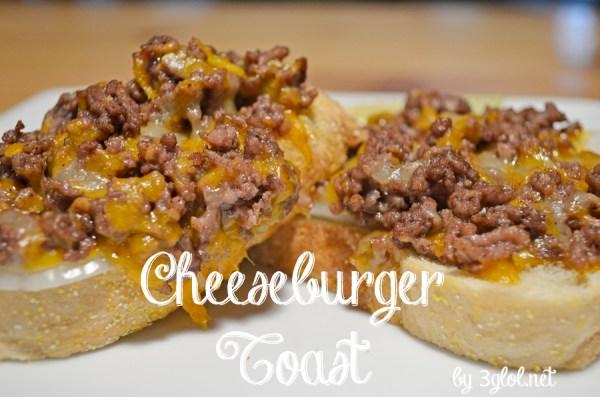 Cheeseburger Toast