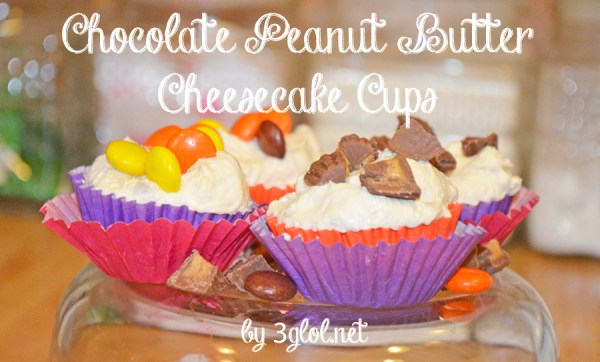 Chocolate Peanut Butter Cheesecake Cups