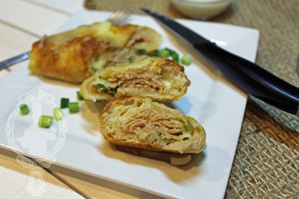 Turkey & Cheese Stromboli