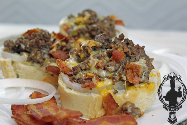Bacon Cheeseburger Toast