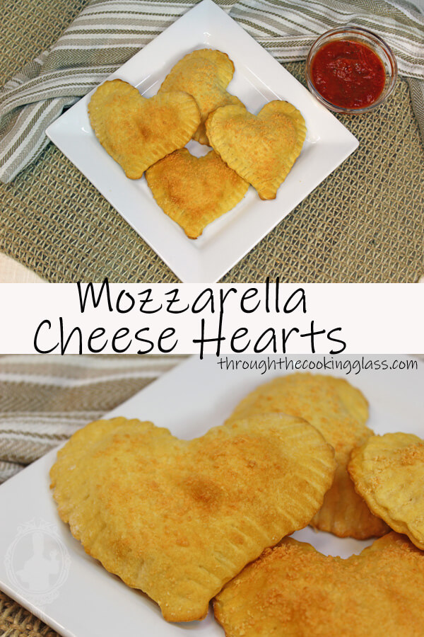Mozzarella Cheese Hearts