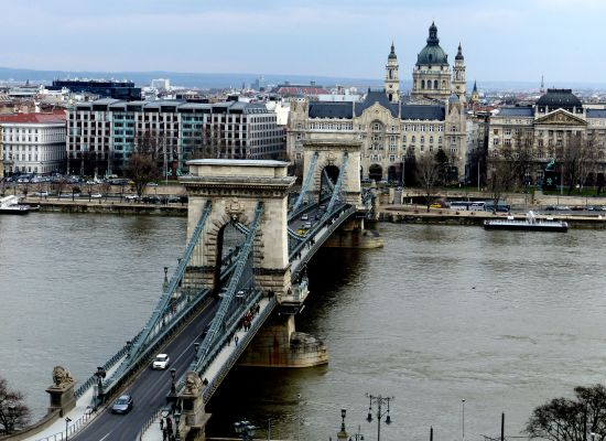 Budapest Photography Chain Bridge View