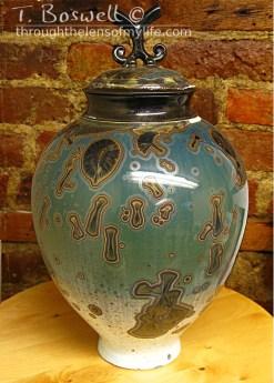 Crystalline glaze vessel www.bostree.com