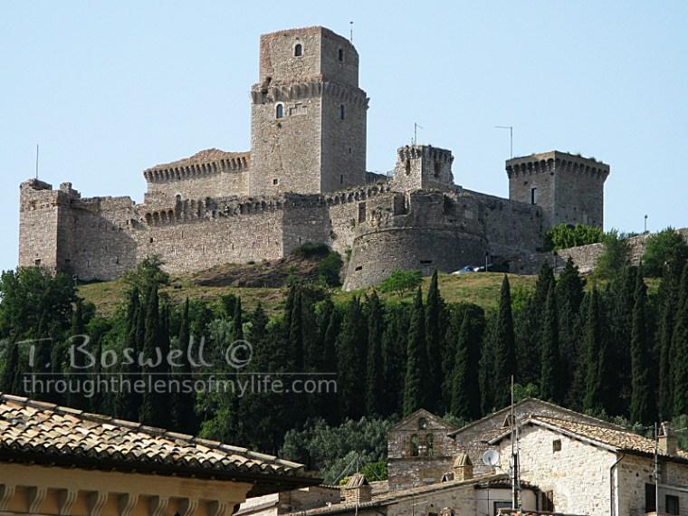 Rocca Maggiore, Assisi, Italy.