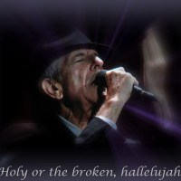 Holy or the broken, hallelujah…