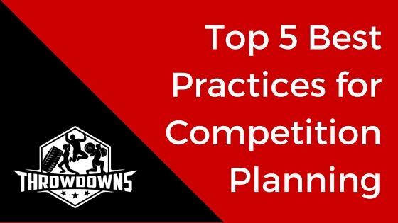 Top 5 Best Practices for Competition Planning