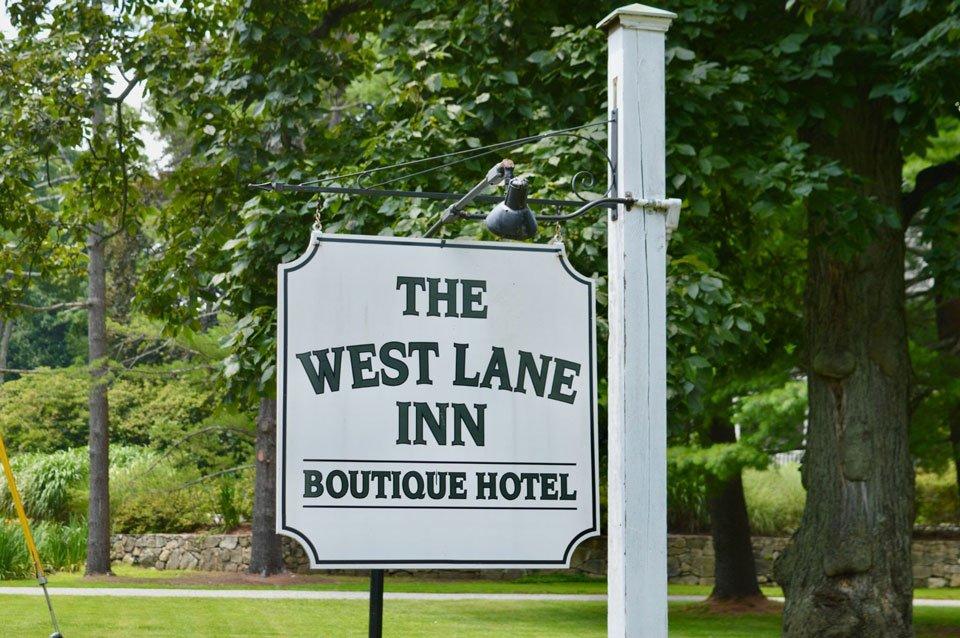 The Suburbs: West Lane Inn Sign