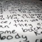 Words, Lyrics, Poets and Societal Acceptance: The Alternate Universe