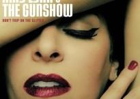 "Amy Lynn & The Gunshow - ""Don't Trip On The Glitter"" album cover artwork"