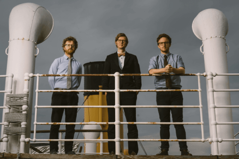 The UK historical electronica band, Public Service Broadcasting