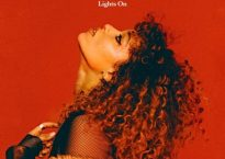 "Cover art for the single, ""Lights On,"" by London artist, Izzy Bizu"
