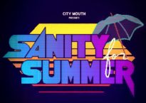 """Cover artwork for the single """"Sanity for Summer"""" by Chicago pop punk band, City Mouth"""