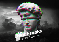 """Cover art for The Beat Freaks' new album """"Stay Calm"""""""