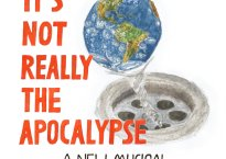"""Cover art for Michael A. Grant's album, """"It's Not Really The Apocalypse"""