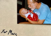 "Cover art for Aaron Taos's EP ""For Marv"" Includes old photograph of Aaron's father"