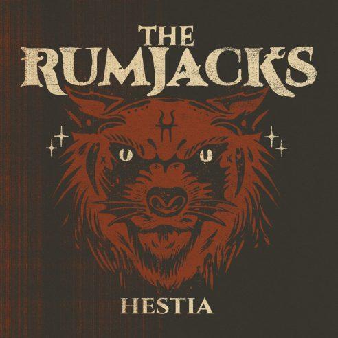 "Cover art for The Rumjacks fifth LP, ""Hestia"""