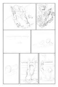 Issue 3 page 8 pencil