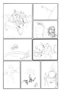 Thru Issue 3 page 16 pencil