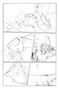 Issue 3 Page 5 pencil