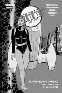 Issue 4 Cover B&W