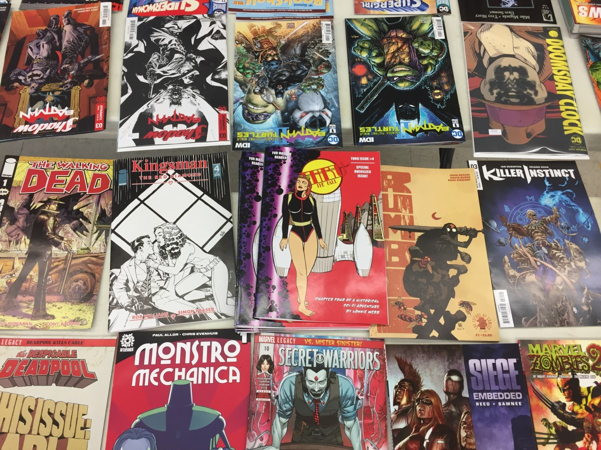 Thru Is Now In A Comic Shop In Texas!