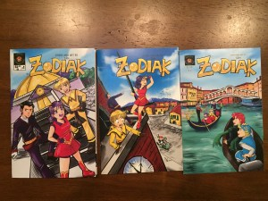 Zodiak Covers Issues 1-3