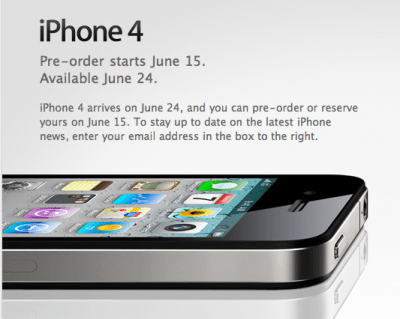 The iPhone 4.0 Commeth!