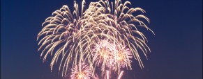 Photos of the Riverscape Fireworks Celebration in Dayton Ohio
