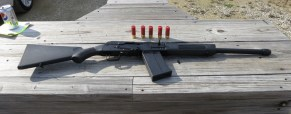 My New Saiga 12 Semi-Automatic Shotgun!