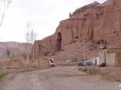 Anfahrt zur Buddha-Nische