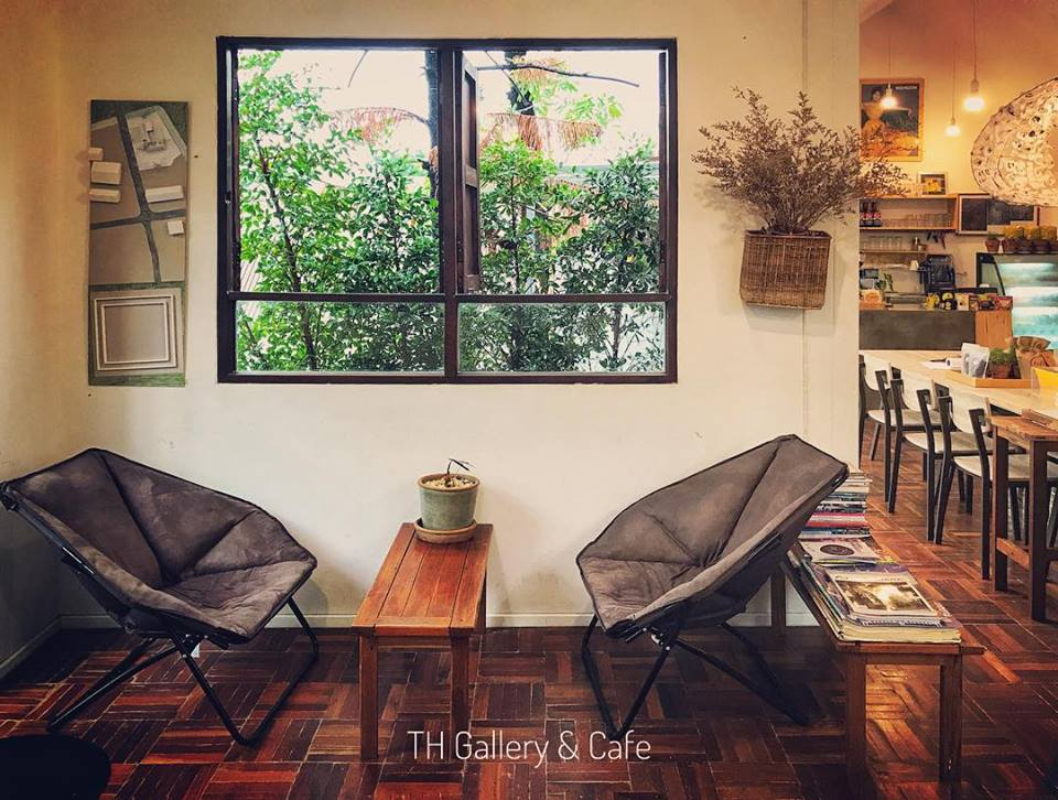TH Gallery & Cafe Living Space 1