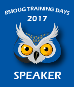 I'm Speaking at RMOUG TD 2017