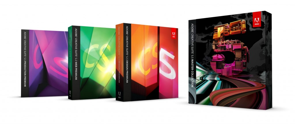 Adobe lanza su Creative Suite 5.5