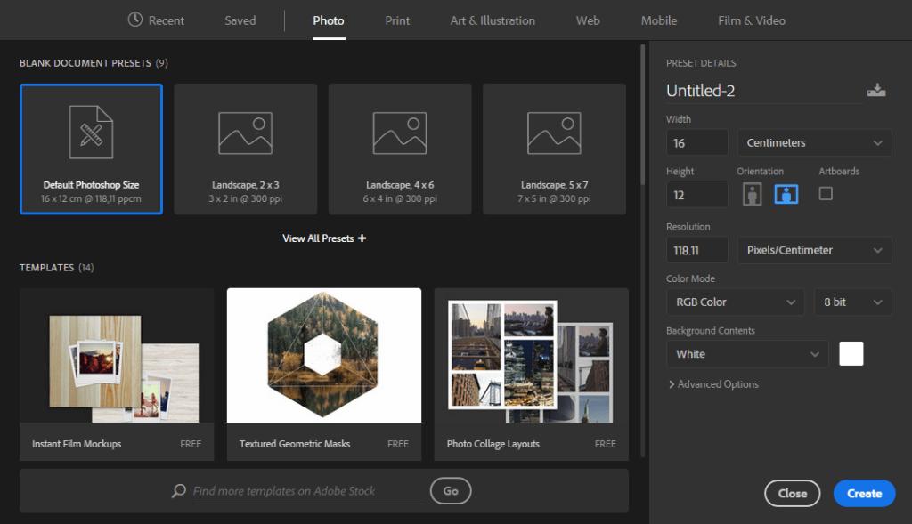 La nueva ventana para crear documentos es mucho más intuitiva y fácil de usar.