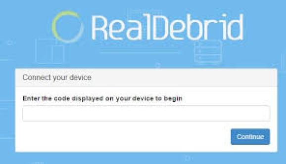 Real Debrid.com/Device