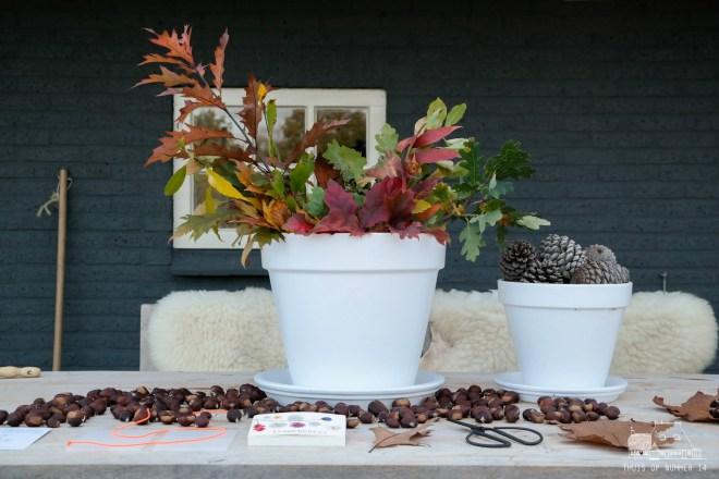 thuis op nummer 14 - flowerpress 2.0 herfst