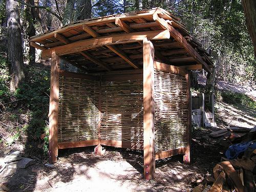 Building Shed Frame